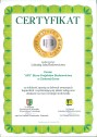 Certyfikat Solidny Partner w Biznesie